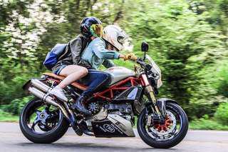 Ducati riding house