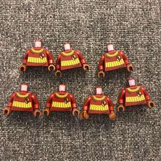 Lego 人仔 身 Harry Potter uniform