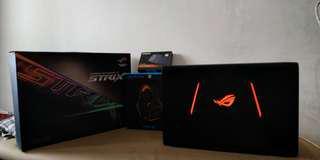 ASUS ROG GL553VD Laptop Gaming BONUS Headset
