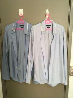 L Size: Gianni Valentino Shirts
