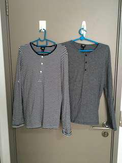 XS Size: H&M Long sleeves