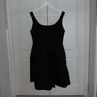 Gap Black Cotton Dress sz 2