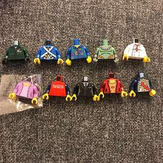 Lego 人仔 身 10pcs [207]torso