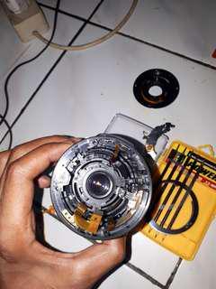 Terima jasa service auto fokus lensa kit canon