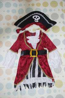 Pirate Princess Baby Costume (For Rent)