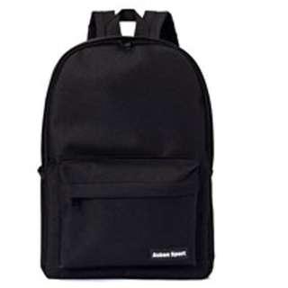 🔥🆕實用袋 帆布書包 帆布背包 backpack 特大背包 黑色書包 粉色書包 背包