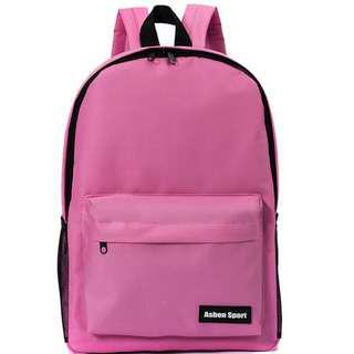 文青背包 backpack 實用書包 帆布書包 韓版 backpack 現貨