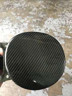 Honda Civic fd stick on cf fuel cover / carbon fibre