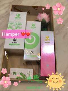 Hamper set with WOWOSG original hair care series