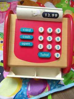 wood cash machine