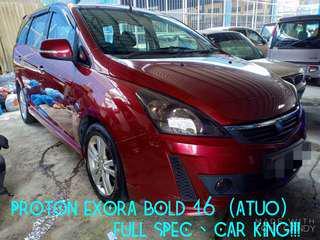 PROTON EXORA BOLD 1.6 (AUTO) FULL SPEC THN 2012,CAR KING‼️