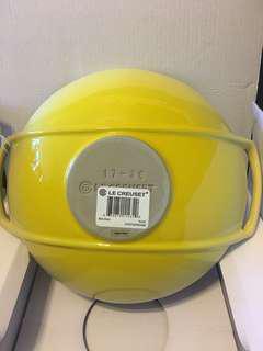 Le Creuset wok 20cm