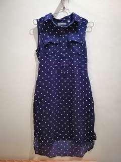 Uniqlo polka dress
