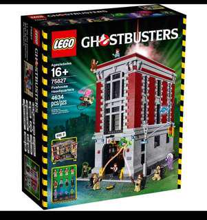Lego Ghostbusters Firehouse HQ 75827