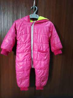 Baby snowsuit #UNDER90