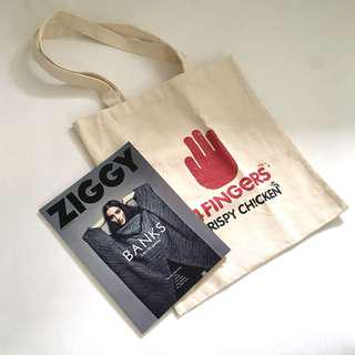 4fingers Canvas Tote Bag