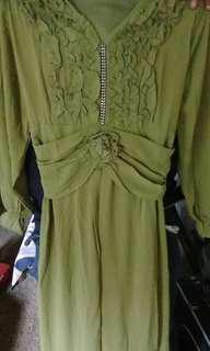 #ramadhansale Gamis hijau