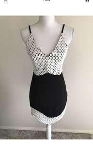 Angel biba mini dress size 8