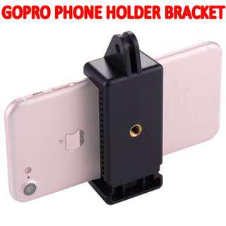 TGP084 Smartphones Holder Clamp GoPro Connector