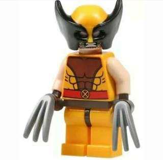 LEGO wolverine marvel Super hero 76022 x men avengers