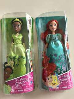 #Under90 Princess teana & ariel dolls