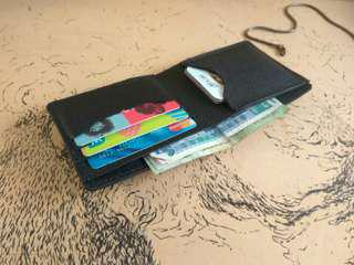 Customize Leather Simple Wallet 🎁free name emboss