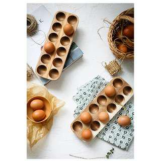 Zakka 雜貨 雞蛋木收納盒