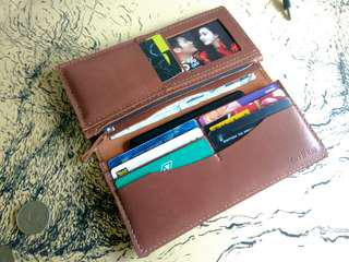 CustomizeLeather Long Wallet *Free Name Emboss