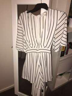 Striped Playsuit (fits 8-12)