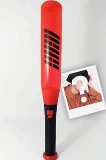 IKON Lightstick Konbat Official with Free Polaroid Oh-Hand