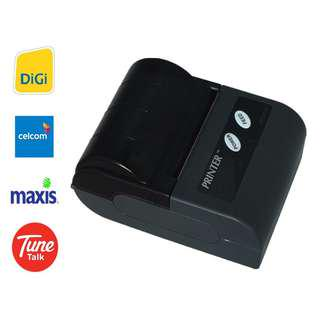 Bluetooth Wireless Thermal Receipt Printer SRS Topup Bill Payhere