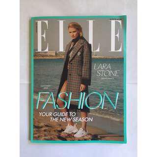 Elle Fashion September Magazine Australia