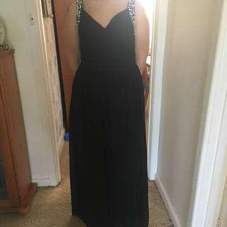 Black Formal Dress Size 12/14