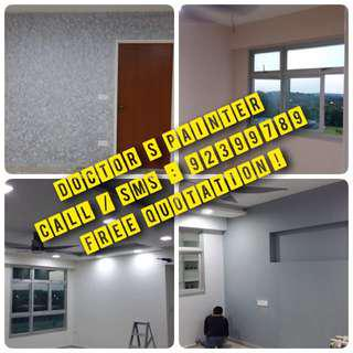 Cheap and budget BTO Painting Services with/wo curtain Packages ! Low Price ! Budget ! !