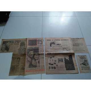 Radio Weekly 1960 Newspaper incomplete with missing pages and some Cut-out