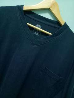 T-shirt Plain blue