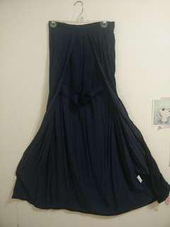 NAVY Open Maxi Skirt with Shorts SIZE 6