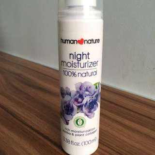 human❤️nature Night Moisturizer