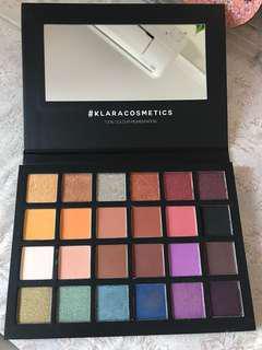 Klara Cosmetics Eyeshadow palette