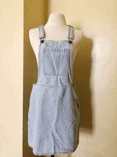 The Overall Dress Denim Overall Dress