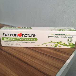 human❤️nature Natural Toothpaste