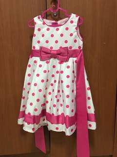 Dress Polka Pink
