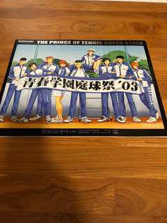 IN MINT CONDITION! Prince of Tennis Final Stage Tennis Festival 2003 Limited Release Book