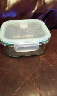 玻璃儲物盒, 微波爐飯盒一