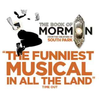 45% OFF Front Row Book of Mormon Musical Tickets x2