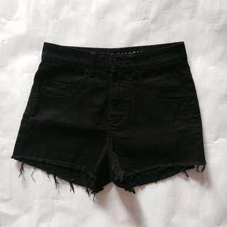 Cotton On Black Denim Shorts