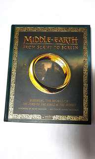 LORD OF THE RINGS : MIDDLE Earth Script to Screen