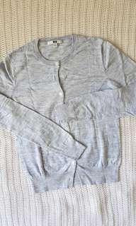Uniqlo Cardigan 100% Cotton #UNDER90