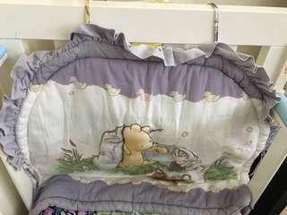 二手BB床圍 bed frame Winnie the Pooh