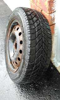 Good Year Winter Tires 195/55/R15